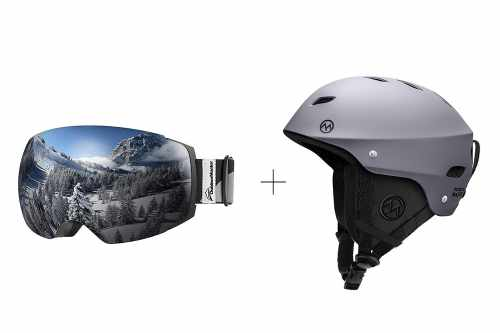 Outdoormaster ski and goggle combo