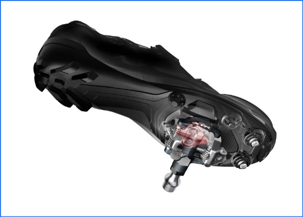 shimano spd shoe and pedal
