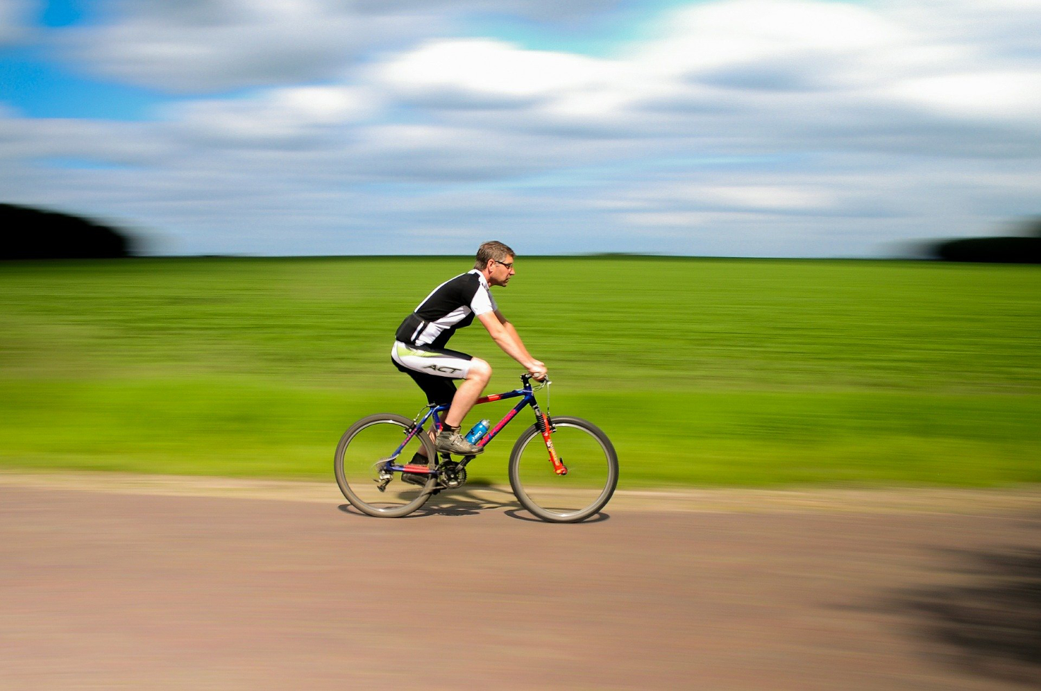 can you ride mountain bikes on the road