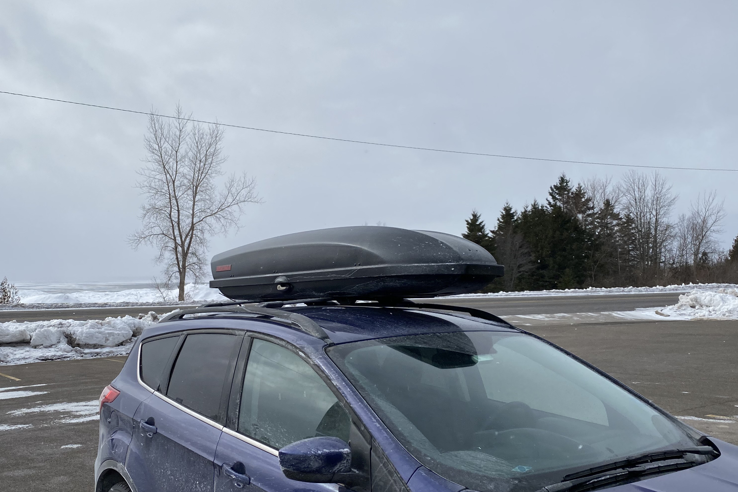 cargo box on car