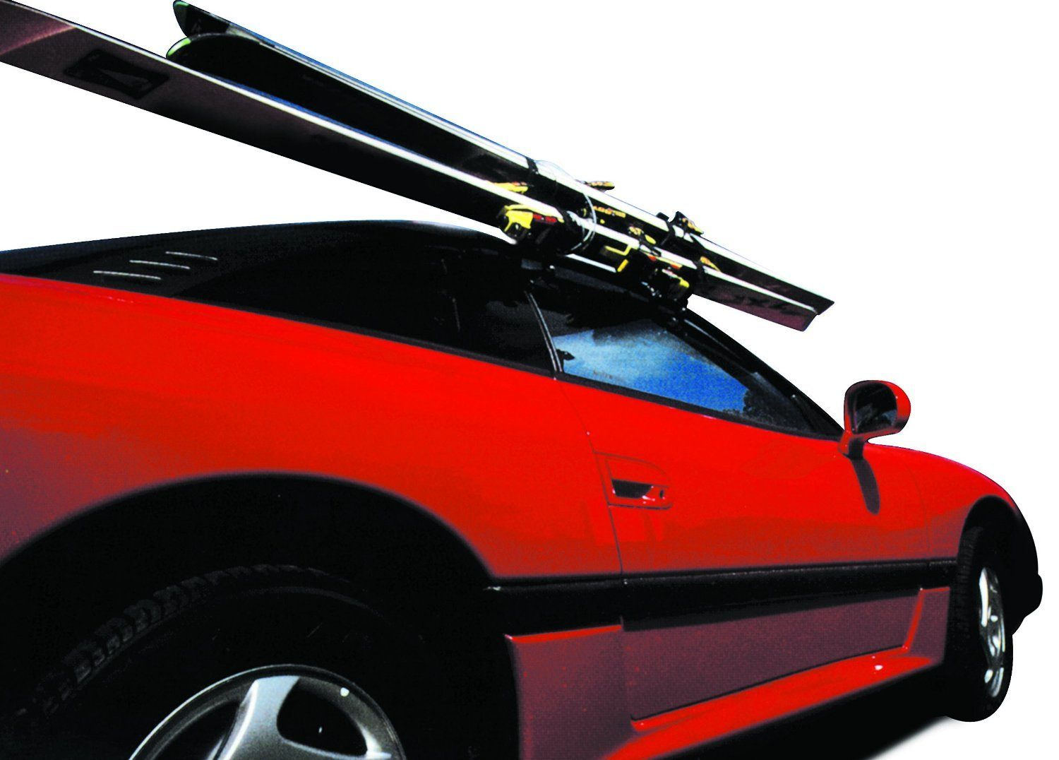 window mount ski rack on car