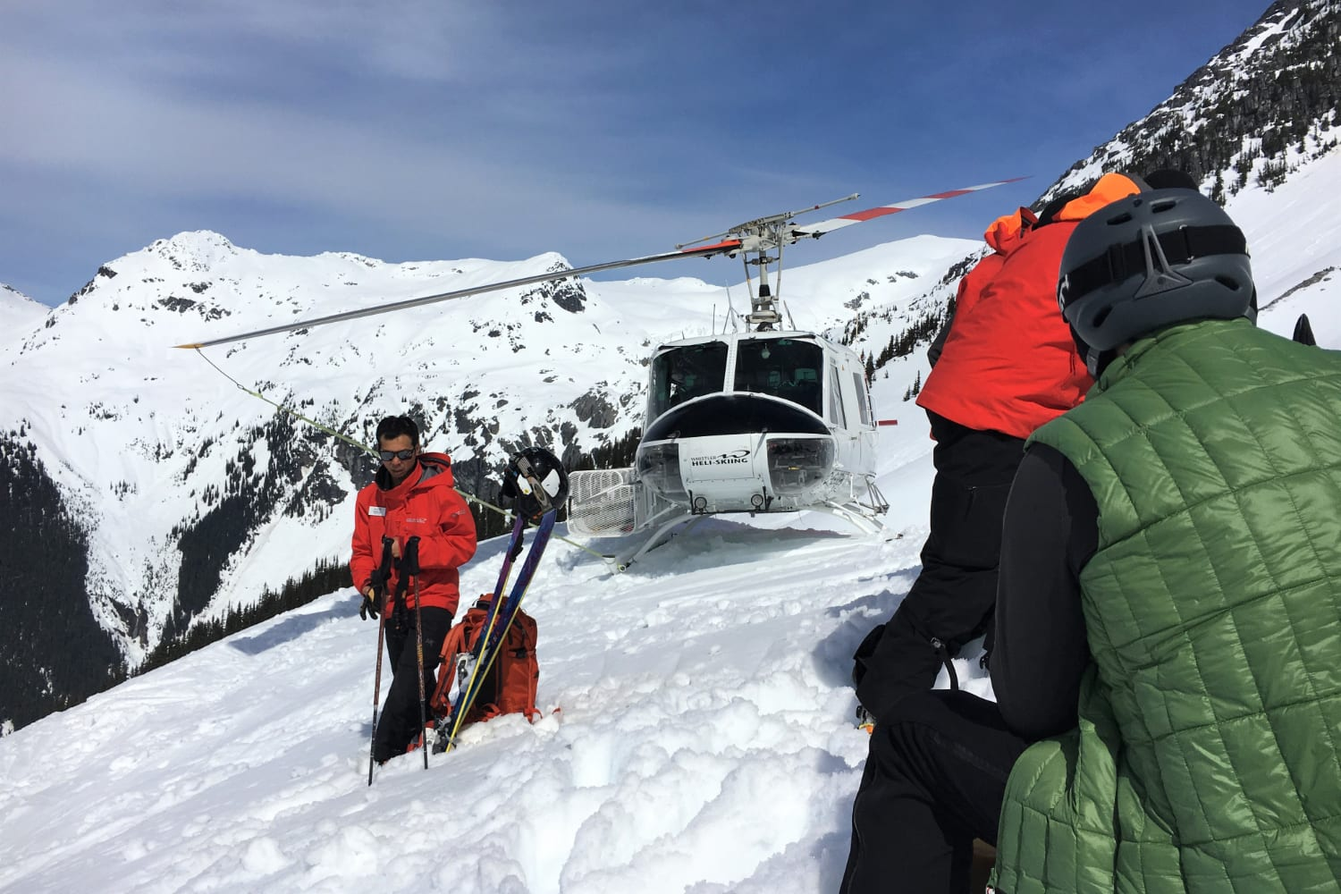 going heli skiing for the first time featured image