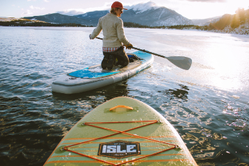best beginner inflatable paddle board