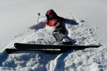 how to stop on skis