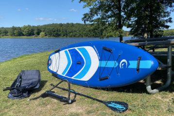 chasing blue SUP review Infinite Sport