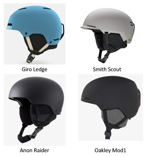 low end competitive helmets