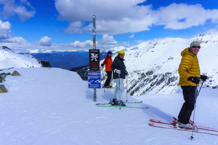 TheCamp group at Spanky's Ladder Whistler Blackcomb